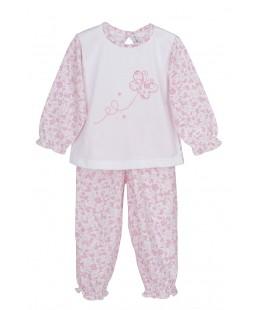 Pijama Largo Mariposa